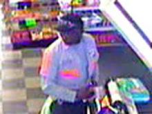 Creedmoor police released this surveillance photo of a man they believe has posed as a waste-management worker to cash counterfeit checks in five counties over the past year.