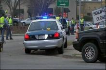 A pedestrian died on Wednesday, March 11, 2009, on Falls of Neuse Road in Raleigh after being hit by a white landscaping truck that fled the scene, police said.
