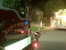Four family members escaped a house fire early Tuesday at 211 Preston Pines Drive.