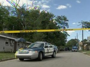 Two people were shot just before 4 p.m. Wednesday, May 20, 2009, along the 100 block of Fisher Street in Raleigh.