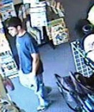 Fayetteville police released this photo from a surveillance camera of a man who they believe exposed himself to a 7-year-old girl while she and her mother were shopping at Once Upon a Child, 5075 Morganton Road, Suite 10, around 2 p.m. June 17. The child immediately told her mother, and the man left the store.