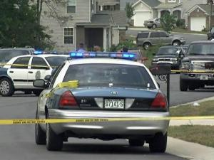 Raleigh police were on the scene of a shooting in front of the 3400 block of Mackinac Island Lane on July 11, 2009.