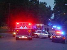 A woman was shot Wednesday evening at the intersection of Hickory Avenue and Fourth Street in Sanford, police said.