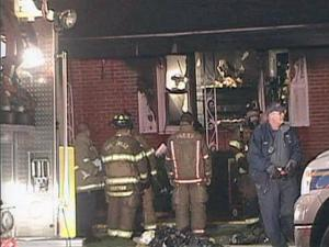 Firefighters found the body of a man after extinguishing a fire at a house at 118 Cedar Creek Road, in southeastern Fayetteville early Saturday, Oct. 17, 2009, police said.