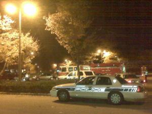 The bomb squad detonated a device Tuesday, Nov. 17, 2009, at a car repair shop on N.C. Highway 55, near Sedwick Drive, in Durham.