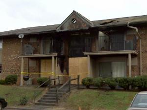 Several units in the Royal Oaks Apartments in Durham were damaged by a Nov. 19, 2009, fire. One firefighter was injured battling the blaze.