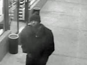 Rocky Mount police released a surveillance image captured Nov. 24 at the L & L Food Store #11, at 4101 Sunset Ave., showing a black man wearing a dark hat and coat.