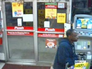 "The Cumberland County Sheriff's Office released this surveillance picture of a man, dubbed the ""Cigar Bandit,"" who robbed a Kangaroo gas convenience store, at 801 N. Main St. in Spring Lake, on Dec. 13, 2009."
