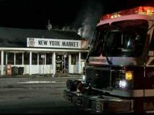 Fires displace family, gut business