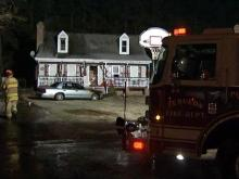 A fire extensively damaged and displaced a family from a home at 515 Derby Place in Zebulon early Monday, Dec. 21, 2009.