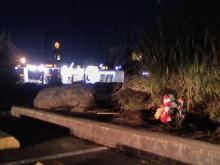 A man was killed early Sunday, Dec. 27, 2009, in the parking lot at Taste of Fuji in Butner.