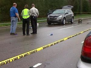 Authorities were on the scene of a pedestrian-car collision Friday afternoon in Raleigh.