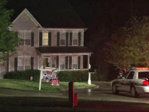 A man started a fire in the crawl space of a home on Gwinnett Place, off Tryon Road, while trying to break in late Thursday, April 8, 2010, police said.
