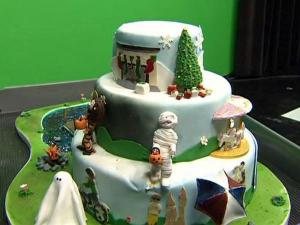 Cake contest winners talk about their creations