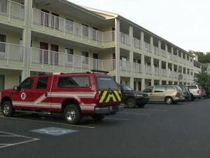 A man died after being shot at the Crossland Economy Studios Hotel at 5008 N.C. Highway 55 in Durham around 6:30 p.m. Tuesday, June 8, 2010.