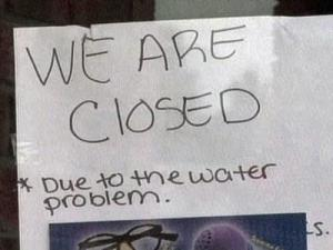 An order to boil water has forced many restaurants in Smithfield to close until public health officials can determine if water there is safe to drink.