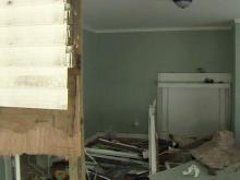 Home damaged by vehicle in Durham