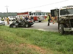 On Saturday, Aug. 14, 2010, a group of students were in a vehicle that crashed at the intersection of White Store and Old Pageland Monroe roads in Monroe.