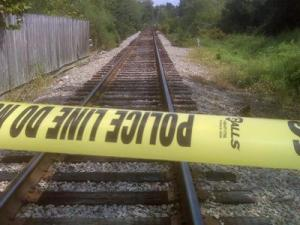 Skeletal remains were found near a railroad trestle near Person and Broad streets in Fayetteville on Aug. 25, 2010.