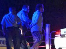 Driver caught, passenger sought after chase, crash
