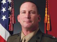 Marine Col. Douglas Denn, Cherry Point commander
