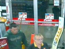 Cumberland County detectives are trying to identify the suspect in this surveillance image. He is a suspect in the Oct. 3 robbery of the Kangaroo, 801 N. Bragg Blvd. in Spring Lake.