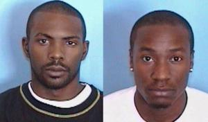 Marquail Earl Mouring (left), James Earl Carney (right)