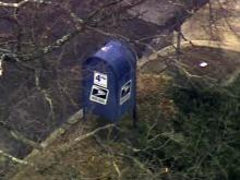 Suspicious package in mailbox