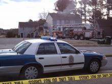 Fire reported at Raleigh townhouse complex