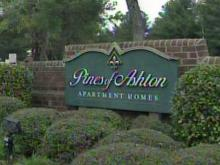 Raleigh police were investigating a homicide at the Pines of Ashton apartment complex Saturday afternoon.