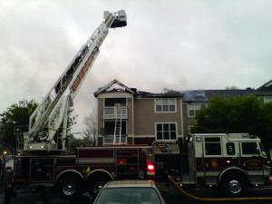 A March 30, 2011, fire damaged the Cedar Springs Apartments complex in north Raleigh.