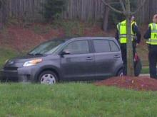 A portion of Cary Parkway was closed briefly after two pedestrians were hit by a car on March 31, 2011.