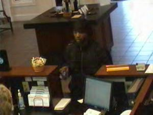 Police said a man walked in to the First Federal Bank, at 603 N. Judd Parkway NE, and stole an undisclosed amount of money around 4:30 p.m. on April 13, 2011.