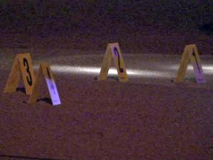 A man was shot in Calloway Drive, between Garner Road and Charles Street, early Thursday, April 21, 2011.