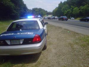 A hit-and-run wreck on Interstate 40 East, near Exit 301, around 2 p.m. June 25, 2011, backed up traffic.