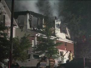 Two adults and three children were able to escape this burning house in the 3500 block of Weir Way on July 5, 2011.