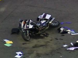 Motorcycle crash on N.C. Highway 55 on Friday, July 15, 2011