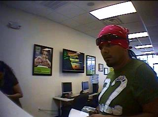 Shortly before 1:30 p.m. Saturday, a man robbed Banco de la Gente on Capital Boulevard in Raleigh.