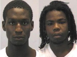 Ryan Robert Smith, left, and Terrian Devon Gaines Jr.