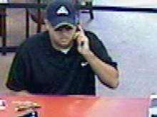 Aug. 11, 2011, surveillance video at BB&T Bank at 4409 Creedmoor Road in Raleigh.
