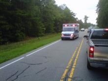 A fatal crash temporarily closed U.S. Highway 401 in both directions between NC Highway 98 and Tarboro Road in Louisburg Friday morning, Aug. 12, 2011.