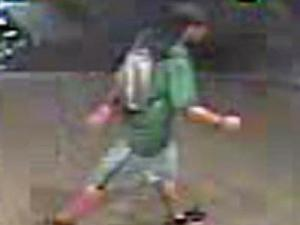 Raleigh police are looking for a man who damaged 10 irrigated planters in the 200, 300 and 400 blocks of Fayetteville Street early Wednesday morning.