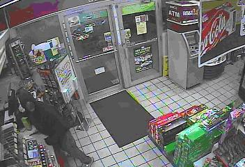 Fayetteville police released this surveillance photo of a person of interest in a recent robbery spree at convenience stores and fast food restaurants Nov. 24-28, 2011.