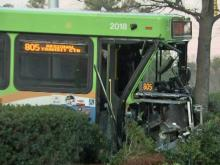 Four injured in Durham transit bus crash