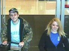 These people are wanted for questioning in a larceny at Target