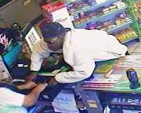 Durham police seeking to identify a man who robbed a convenience store April 11