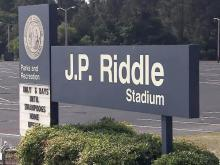 J.P. Riddle Stadium in Fayetteville