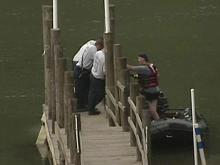The body of a woman was found in the Cape Fear River near Campbellton Landing in Fayetteville Sunday afternoon, police said.
