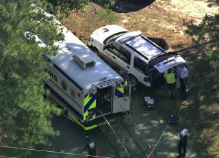 Emergency personnel responded to a report of a gas smell Thursday at a Raleigh day care.