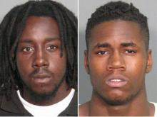 Quamaine Charmichael, left, and Traveon Martin
